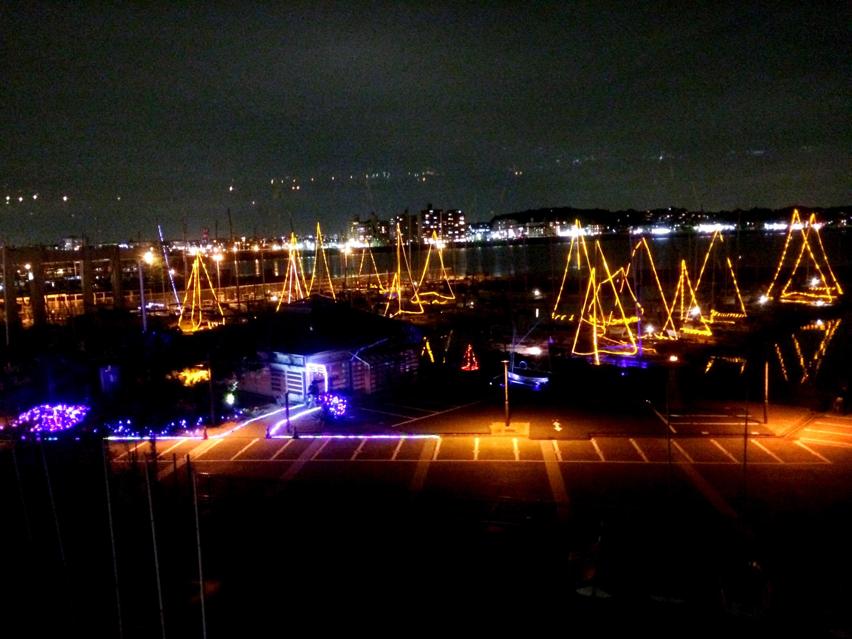 ヨットハーバーからのお知らせ|12/23 Harbor Night X`mas イルミネーションの点灯につきまして
