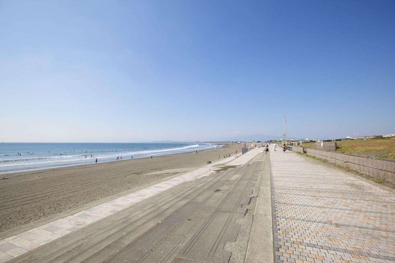 海岸通路(遊歩道)