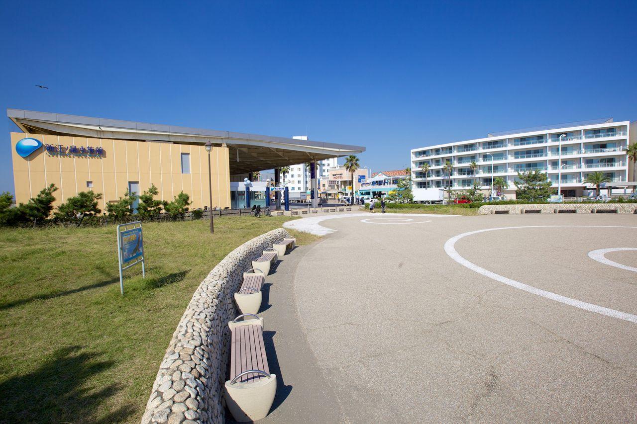 新江ノ島水族館周辺エリア