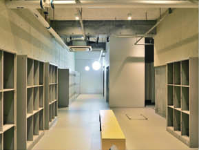 Locker and Shower Room