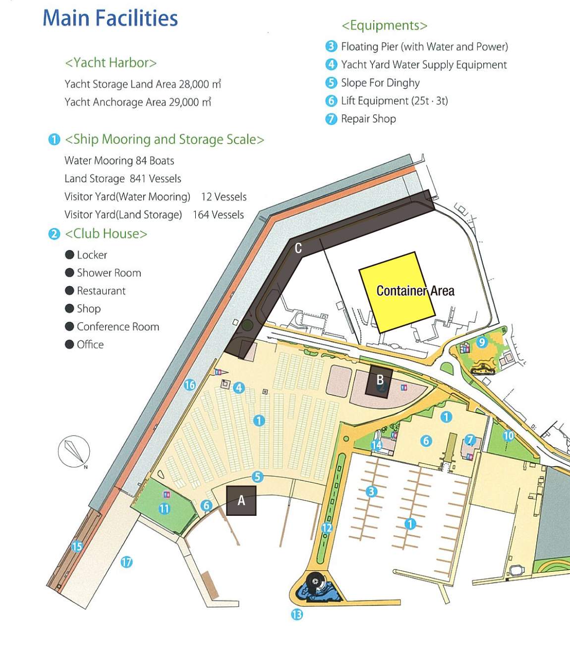 main facility map