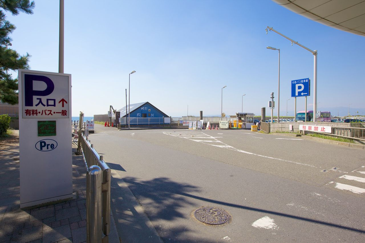 Chubu-Bus parking picture