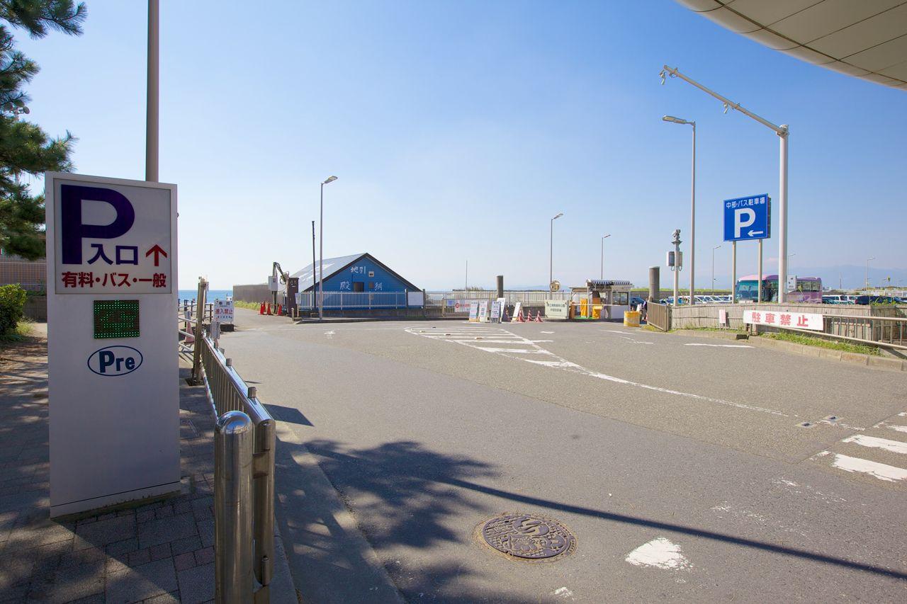 中部バス駐車場