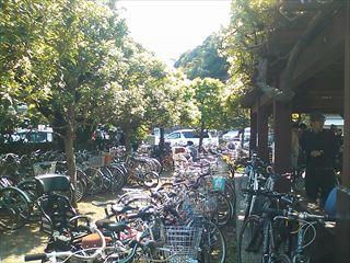 自転車駐輪場